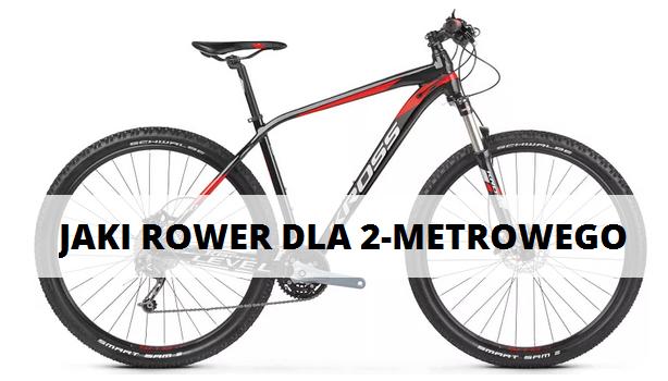 jaki rower dla 2 metrowego mezczyzny