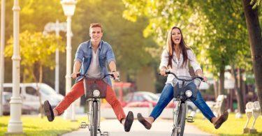 rower na wiosenne wycieczki