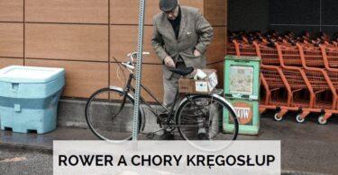 jaki rower dla osoby chorej na kregoslup